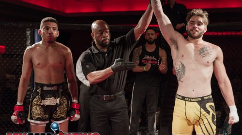 Mike Melso defeated Luis Angueira, Art of War Cagefighting 2