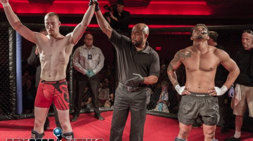 Joe Pyfer defeated Rashaun Day, Art of War Cagefighting 2