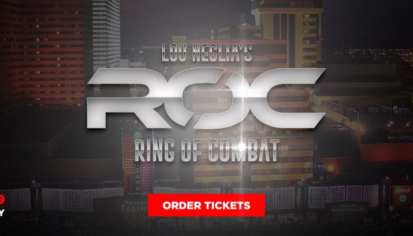 Ring Of Combat 59 Live Results from Atlantic City