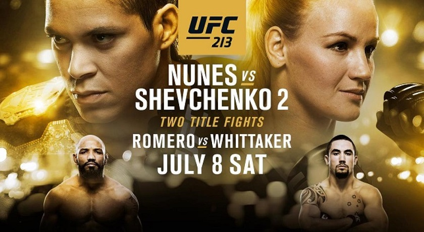 UFC 213 - Nunes vs. Shevchenko 2