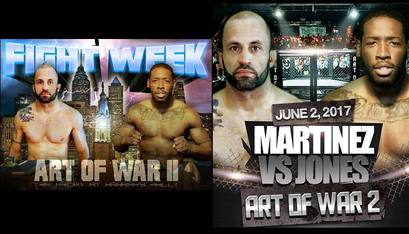 Art of War 2 Cage Fighting Results: Bad Blood – Will Martinez vs. Sharif Jones