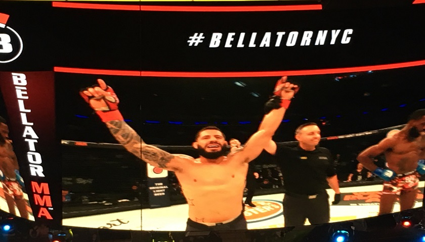 Long Island defeats Bronx – Anthony Giacchina victorious at Bellator 180