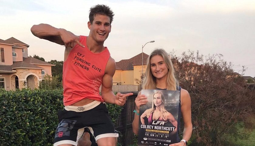 Colbey Northcutt makes pro MMA debut tonight at LFA 14 on AXS TV