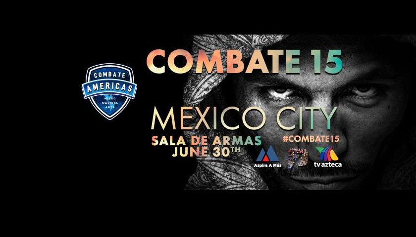 WATCH:  Combate Americas 15 Preliminary Bouts – Free Live Stream