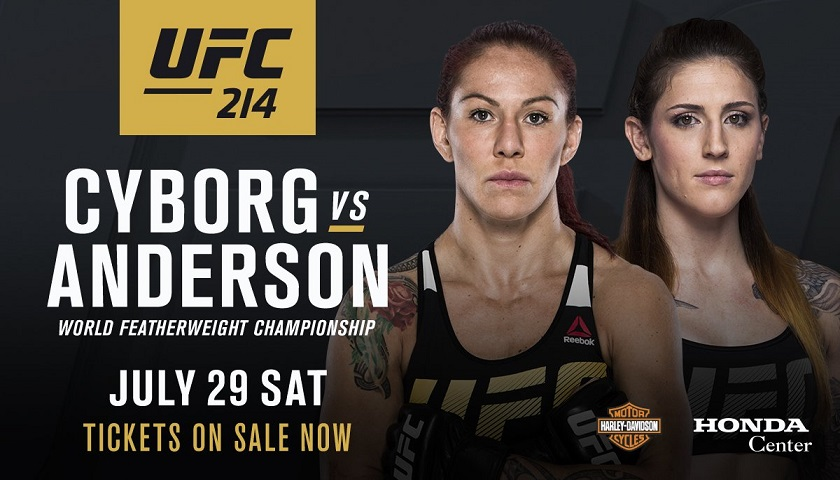 Germaine de Randamie stripped of title, Cyborg vs. Megan Anderson set