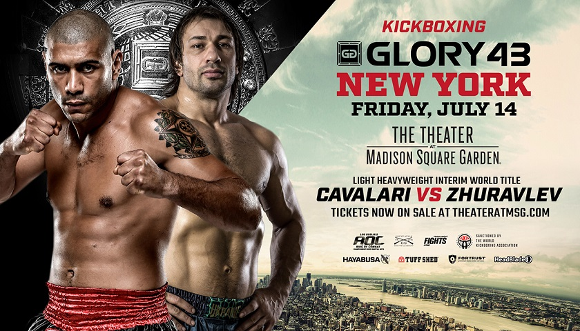 Interim GLORY light heavyweight champion to be crowned in New York