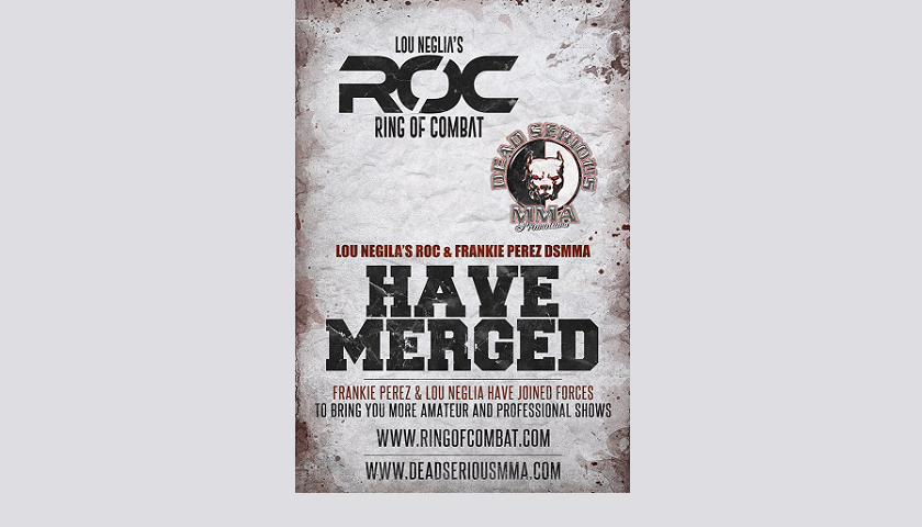 Dead Serious MMA and Ring of Combat merge promotions