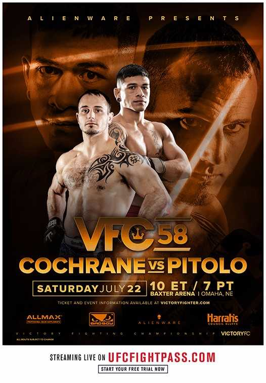 VFC 58, Victory Fighting Championship