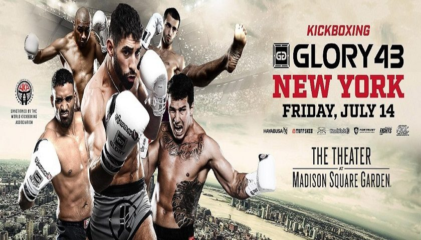 Josh Jauncey vs. Elvis Gashi Added to GLORY 43 on Friday, July 14