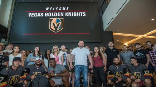 UFC welcomes Golden Knights to Las Vegas