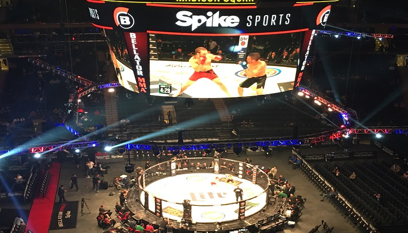 Hugh McKenna victorious at Madison Square Garden