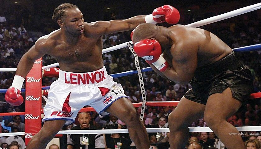 Lennox Lewis:  Mayweather vs. McGregor is ridiculous, no use in watching