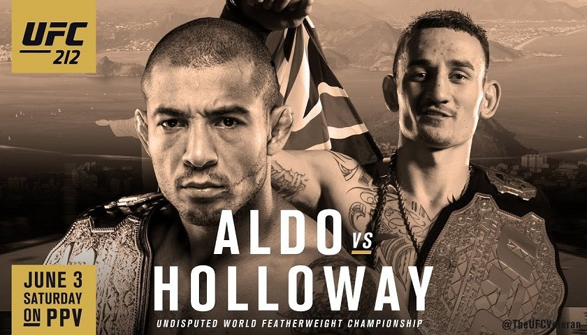 UFC 212 results:  Jose Aldo vs. Max Holloway – Featherweight title unification bout