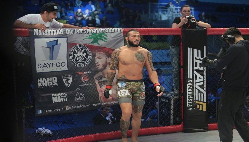Lebanon's Mohammad Fakhreddine helping to introduce MMA in Syria
