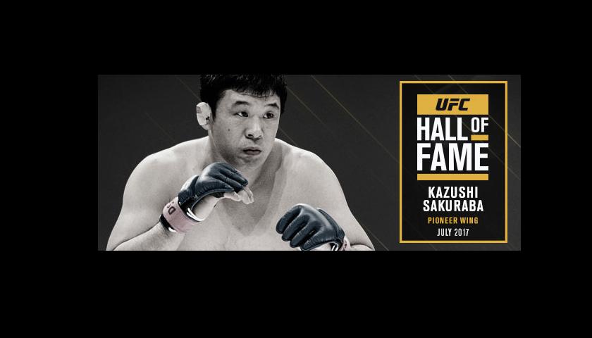 Kazushi Sakuraba named to 2017 UFC Hall of Fame Class