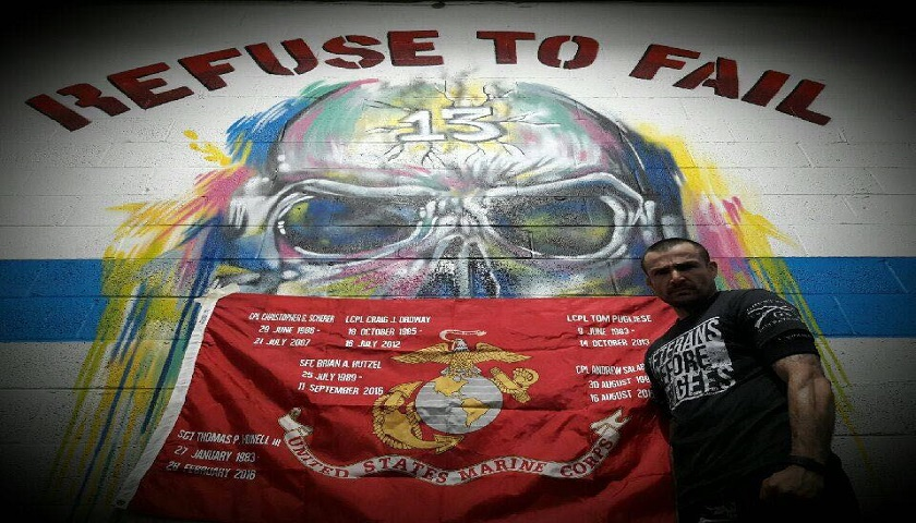 Sam Hoenig, Marine Corps