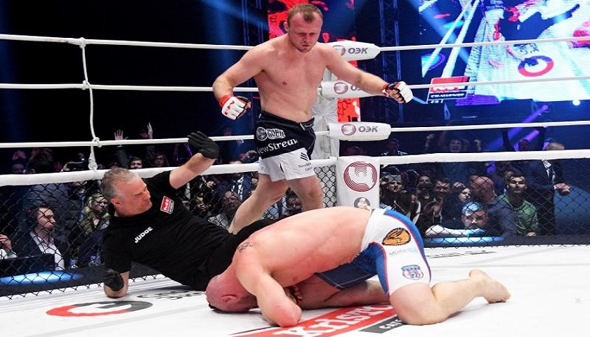 Alexander Shlemenko avenges 2 ½-year-old loss stops Brandon Halsey in 25 seconds