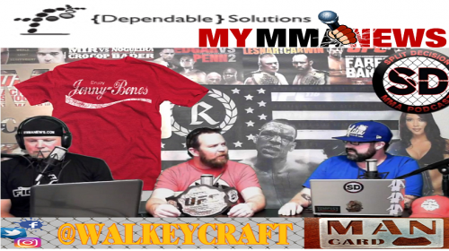Watch this week's episode of the Split Decision MMA Podcast