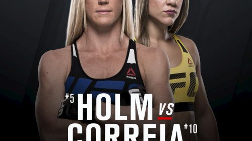 ufc fight night 11, Holly Holm, Bethe Correia