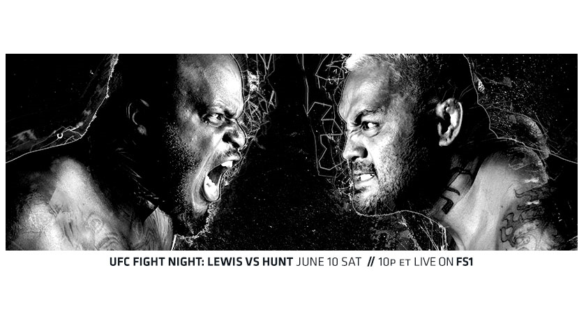 UFC Fight Night 110 Results:  Lewis vs. Hunt from Auckland, New Zealand