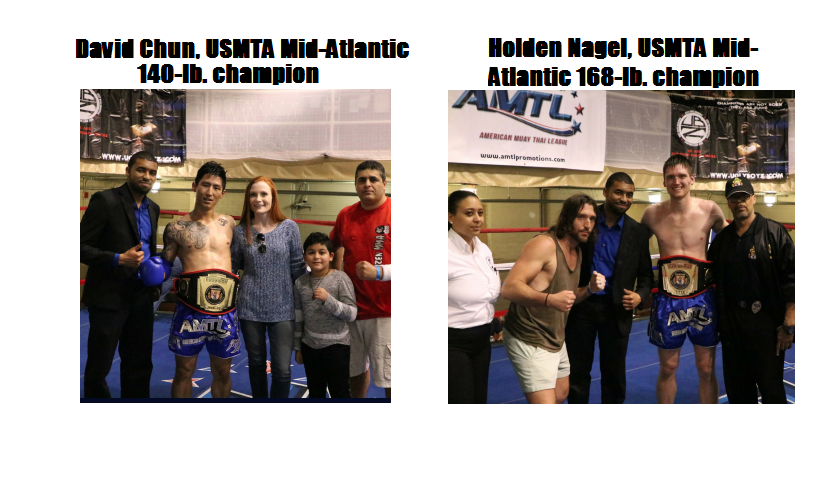 """Chun and Nagel Capture USMTA Titles at AMTL, """"Muay Thai in the DMV"""""""