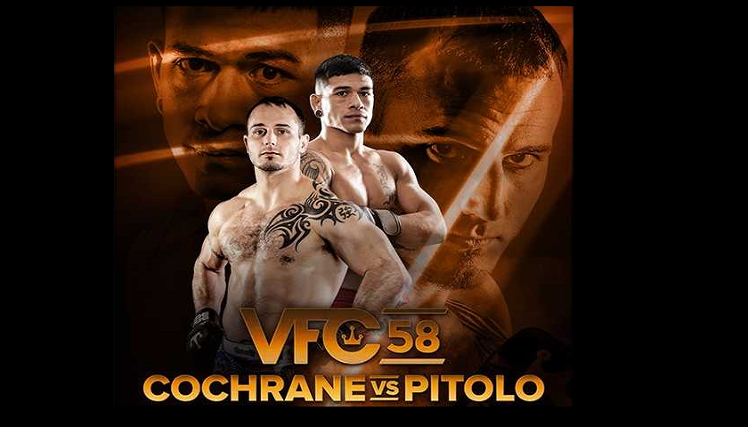 Full lineup revealed for Victory Fighting Championship's VFC 58: Cochrane vs. Pitolo