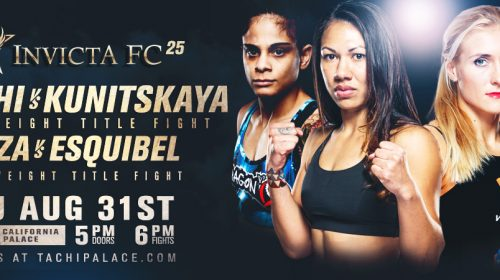 Seven Fights Added to Invicta FC 25 Fight Card on Aug. 31