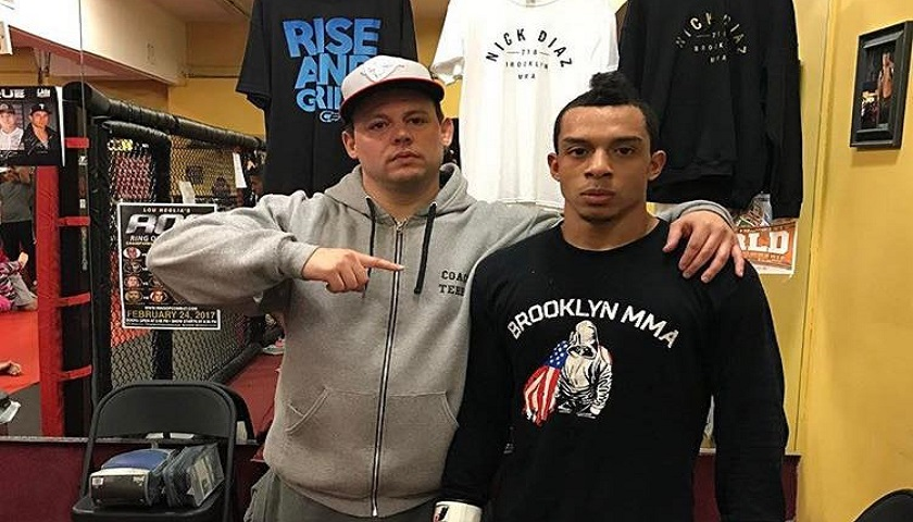 Joel Vasquez, Brooklyn MMA, CFFC 66