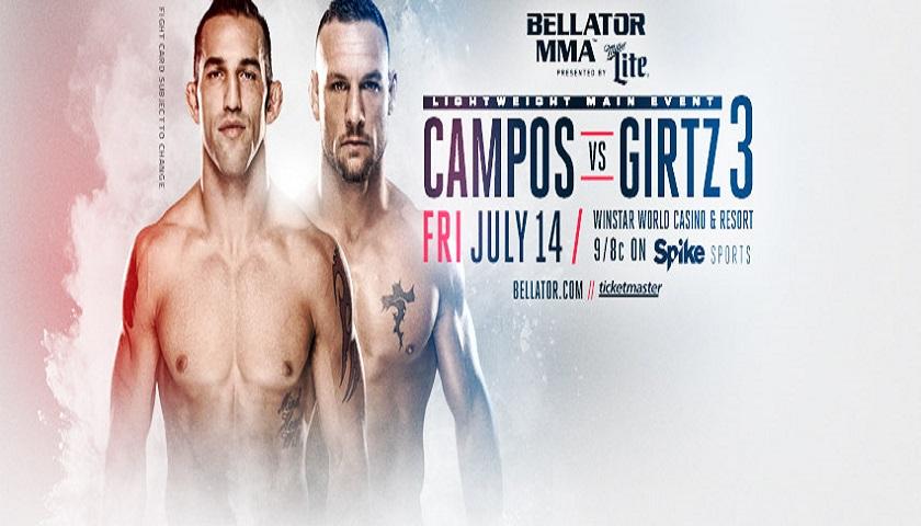 WATCH: Bellator 181 weigh-ins - Thursday, 6 p.m. EST, 5 p.m. CST