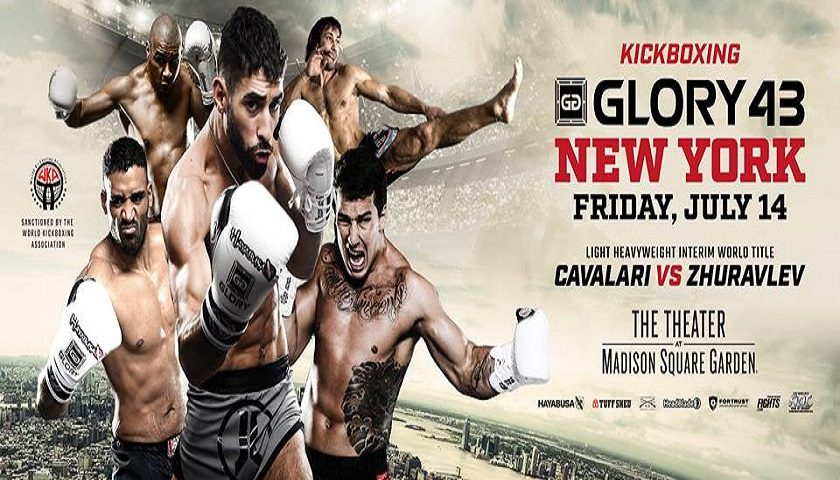 GLORY Fighters Take Stage at MSG for Weigh-Ins – GLORY 43 Weigh-in Results