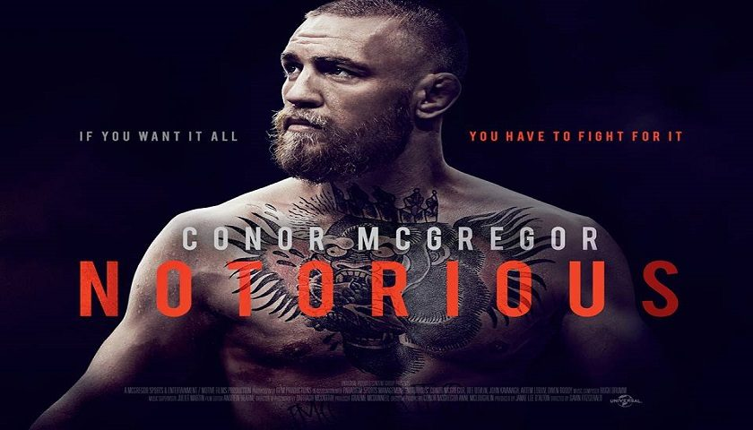 Universal Studios announces Conor McGregor film – 'Notorious'
