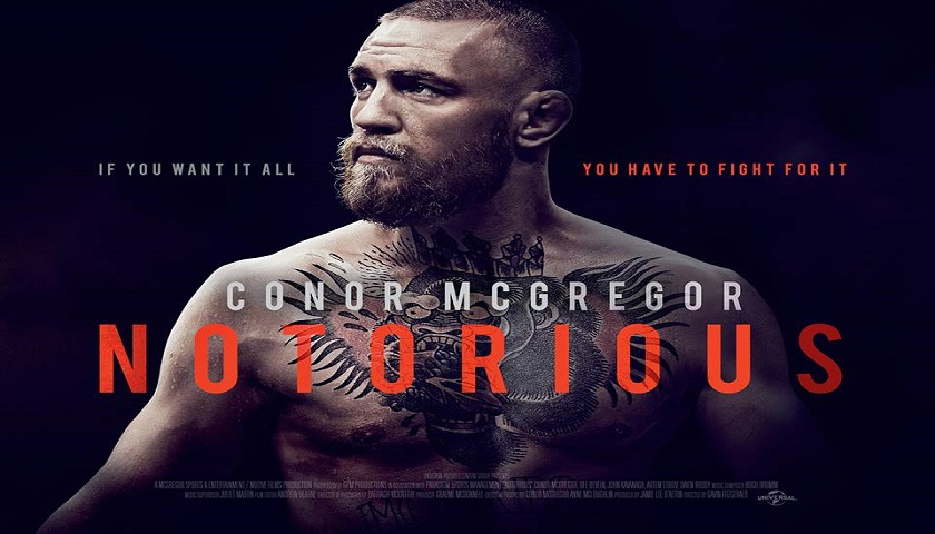 Universal Studios announces Conor McGregor film - 'Notorious'
