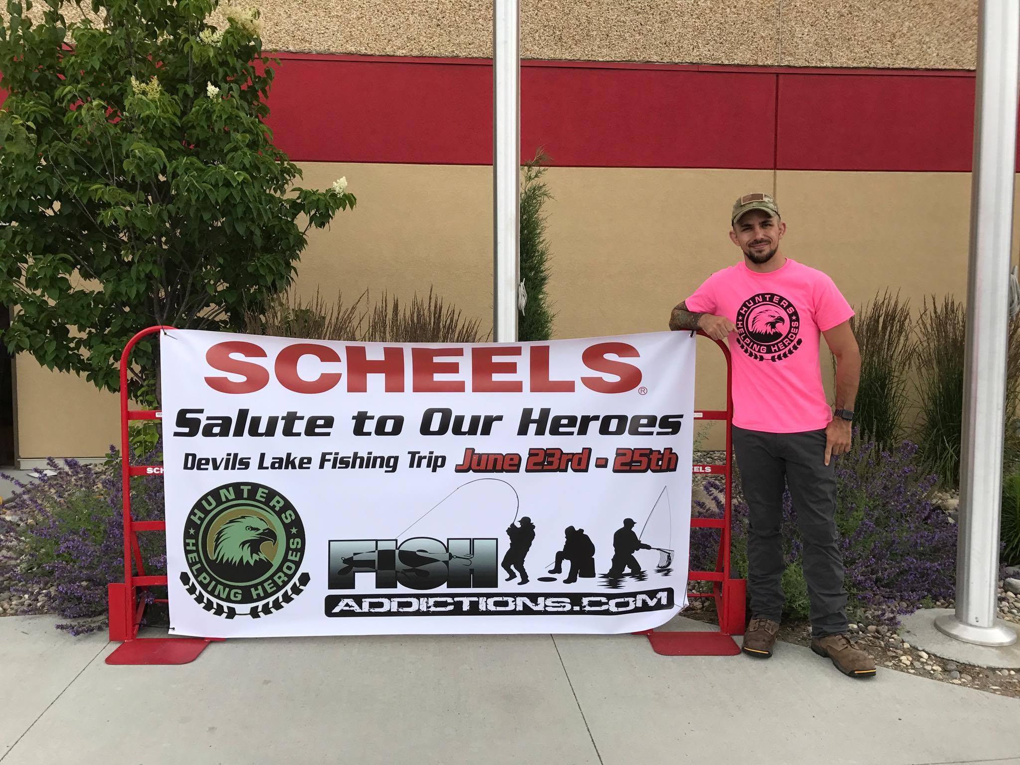 Shane Kruchten, Scheels, Hunters Helping Heroes