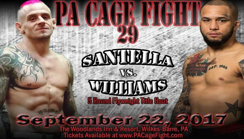 Opponents named for Sean Santella, Jordan Morales, PA Cage Fight title fights