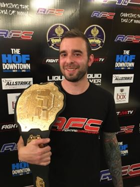 Josh Warner – Australian Fighting Championship