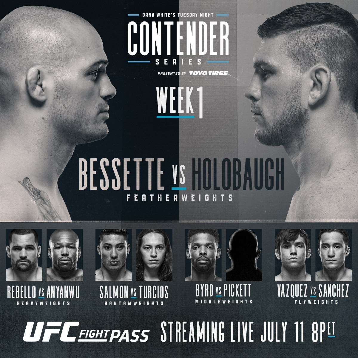 Dana White's Tuesday Night Fights Contender Series - Week 1 results