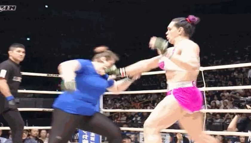 Gabi Garcia fight ends in 16 seconds, second no-contest this month
