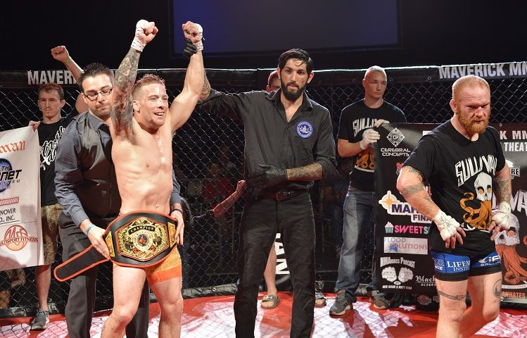 Timing was key to Maverick MMA pairing up with featherweight champion Scott Heckman