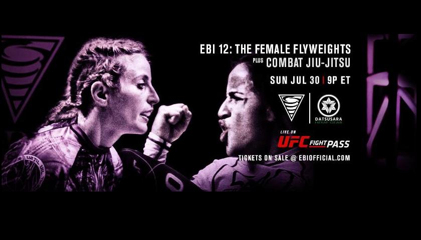 LIVE – EBI 12 Results – The Female Flyweights + Combat Jiu Jitsu