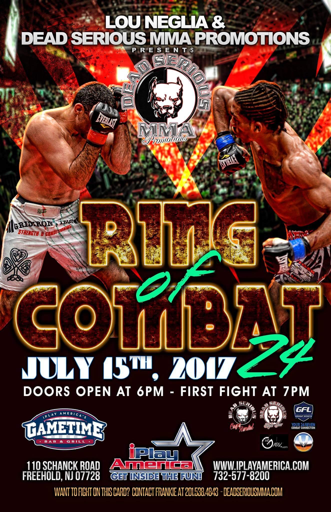 Ring of Combat 24