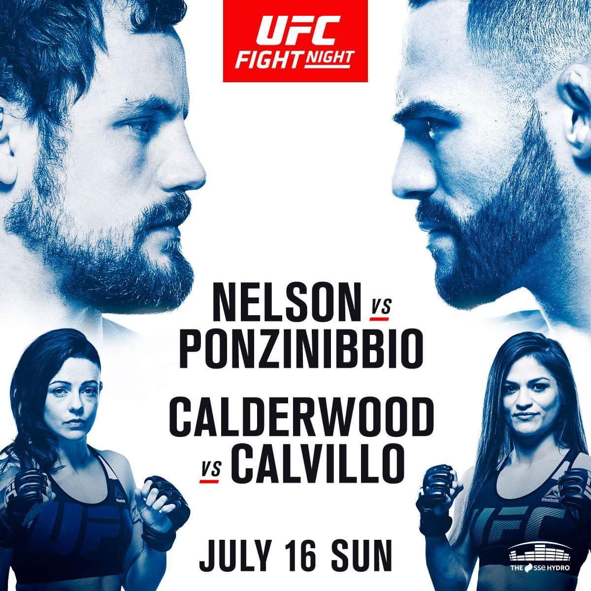 UFC Fight Night Glasgow results