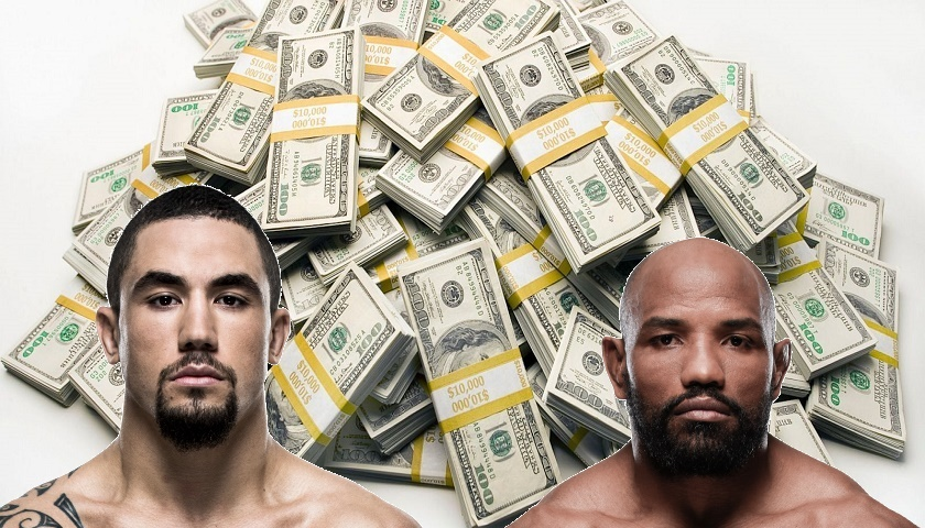 UFC 213 payouts - How much did the fighters make?
