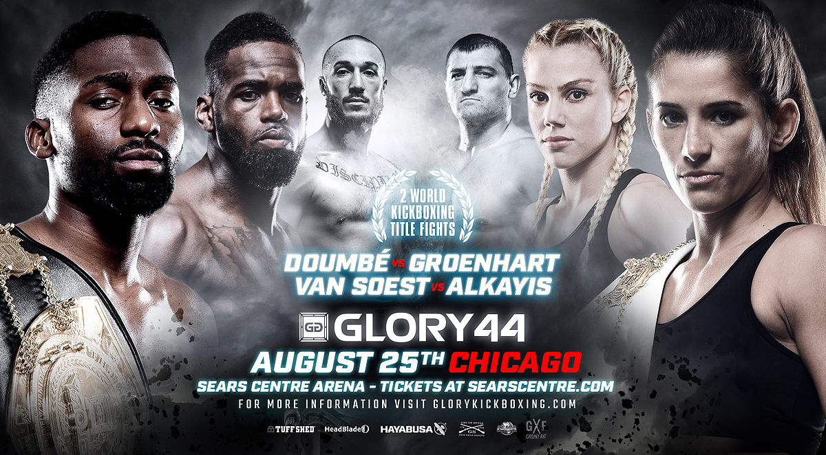 GLORY 44 Chicago Superfight Series Finalized