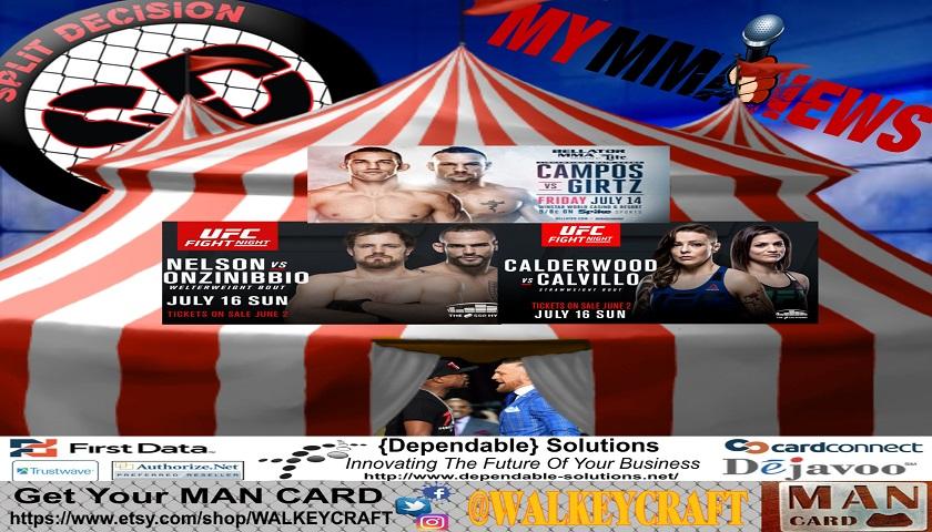 Split Decision MMA Podcast: Nick Diaz No Show, Mario Yamasaki talks stoppage, Mousasi to Bellator