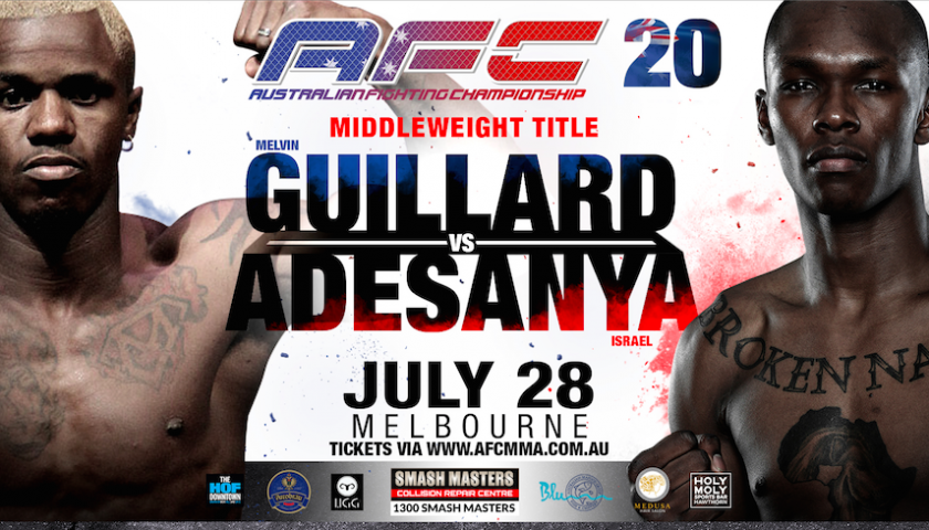 WATCH:  Australia Fighting Championship 20 PPV Live Stream