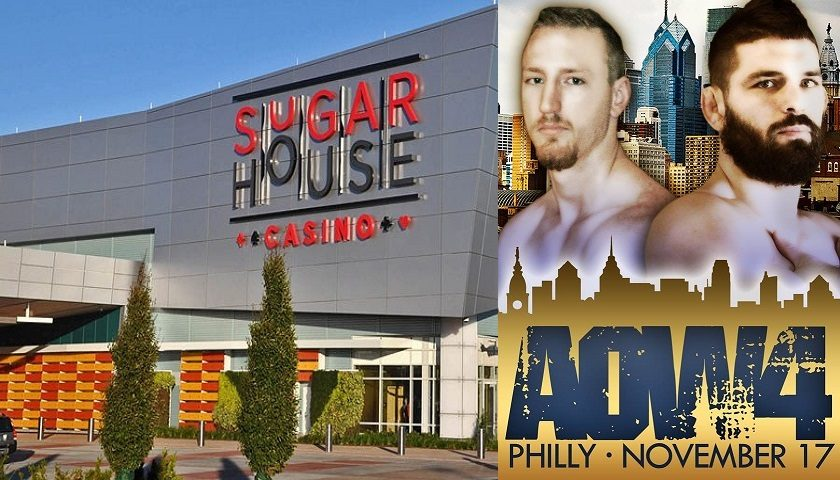 Sugar House Casino to host Art of War Cage Fighting 4, November 17