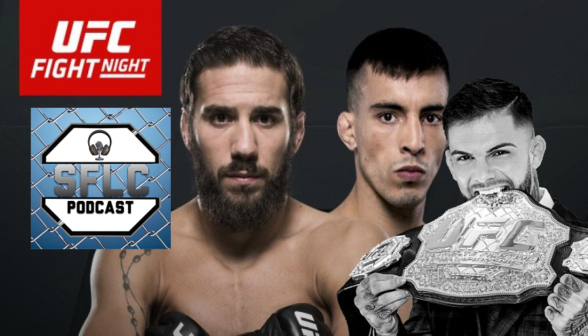 SFLC Podcast - Jimmie Rivera: After Thomas Almeida, I want the belt, I want Cody Garbrandt