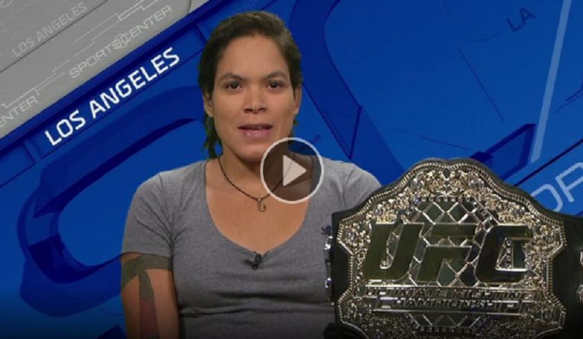 Amanda Nunes discusses motivation on ESPN's Sportscenter