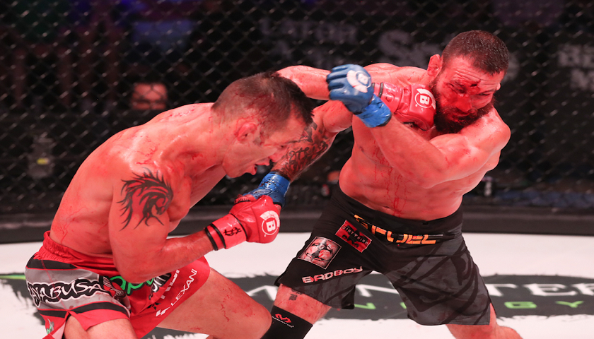 Bellator 181 Results:  Campos defeats Girtz in blood bath