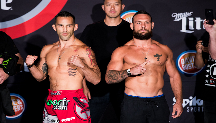 Full Bellator 181 Weigh-In Results - Catchweight main event a go